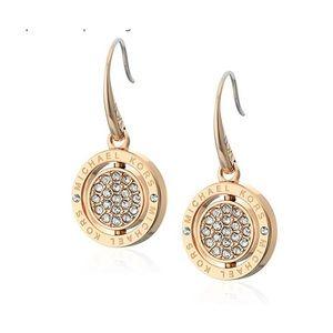 Michael Kors NWT Gold Flip Earrings